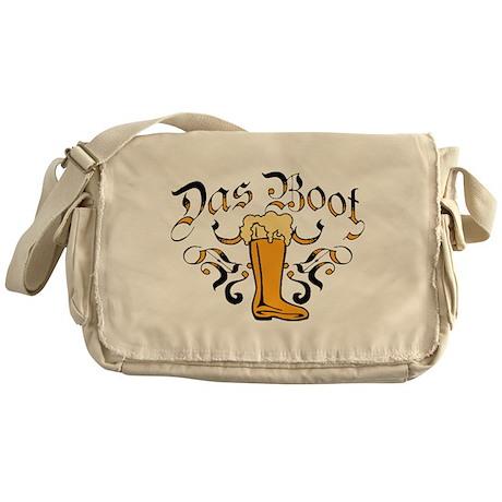 Das Boot Of Beer Messenger Bag