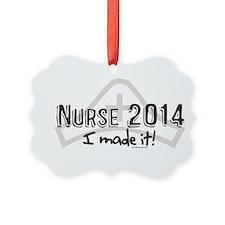 Nurse Graduated 2014 Ornament
