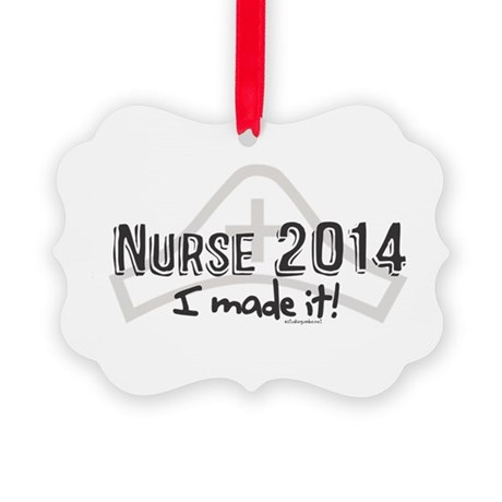 Nurse Graduated 2014 Picture Ornament