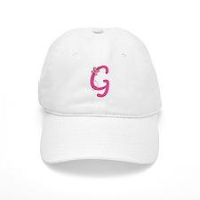 Letter G Monogram Baseball Cap
