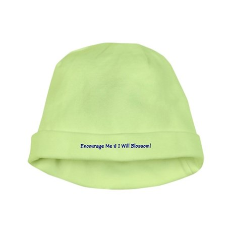 Encourage Me I Will Blossom! Autism Baby Hat