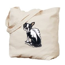Boston Terrier Angel Tote Bag
