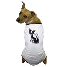 Boston Terrier Angel Dog T-Shirt