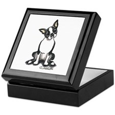 Boston Sit Pretty Keepsake Box