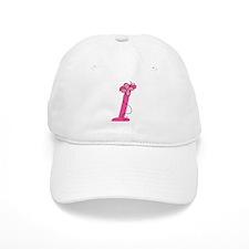 Letter I Monogram Baseball Cap