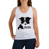 Border collie Women's Tank Tops