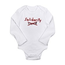 Solidarity Long Sleeve Infant Bodysuit
