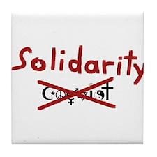 Solidarity Tile Coaster