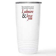 Cute Jane austen persuasion Travel Mug