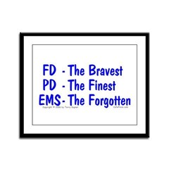 EMS - The Forgotten Framed Panel Print