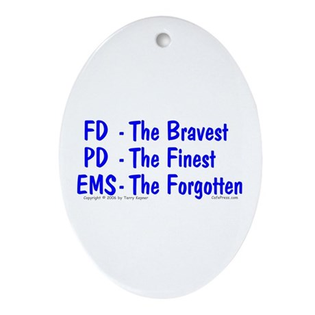 EMS - The Forgotten Oval Ornament