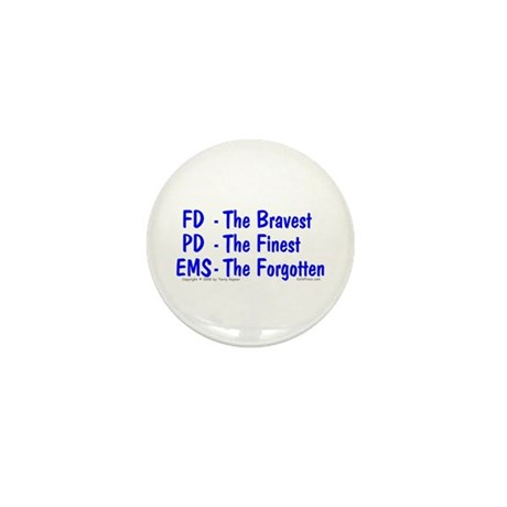 EMS - The Forgotten Mini Button (100 pack)