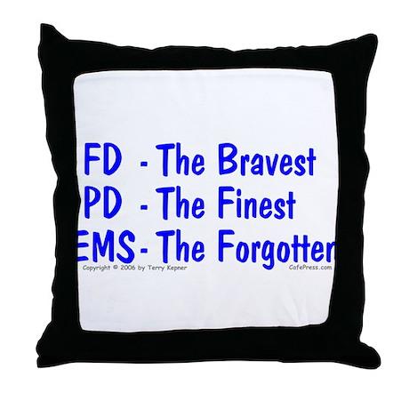 EMS - The Forgotten Throw Pillow