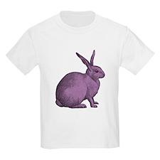 Purple Bunny Rabbit T-Shirt