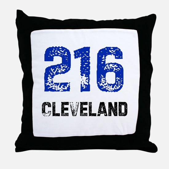 216 Throw Pillow