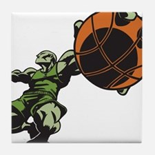 Basketballer Tile Coaster
