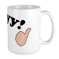 'Ayyy!' Fonzie Ceramic Mugs
