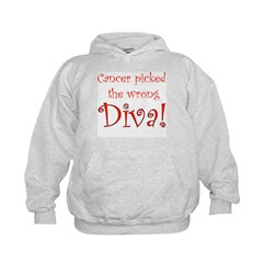 Cancer Picked the Wrong Diva Hoodie