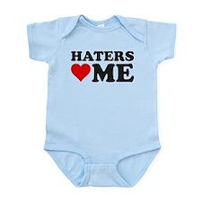 Haters Love Me Infant Bodysuit