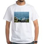 Dun Aengus Cliff White T-Shirt