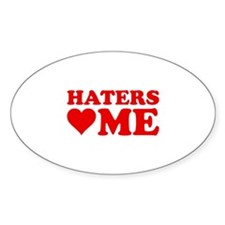 Haters Love Me Decal