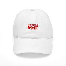 Haters Love Me Baseball Cap