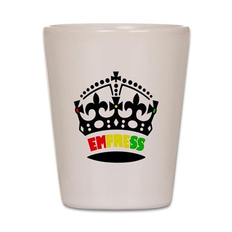 EMPRESS RASTA Shot Glass