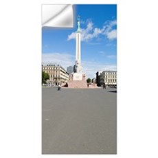 War memorial in a city, Freedom Monument, Riga, La Wall Decal