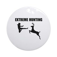 Extreme Hunting Ornament (Round)