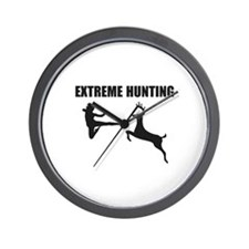 Extreme Hunting Wall Clock