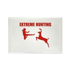 Extreme Hunting Rectangle Magnet