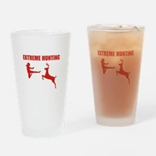 Extreme Hunting Drinking Glass