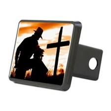 """Cowboy Prayer"" Hitch Cover"