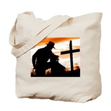 """Cowboy Prayer"" Tote Bag"
