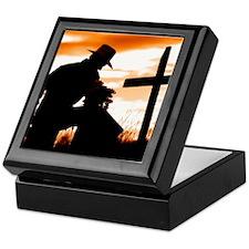 """""""Cowboy Prayer"""" Keepsake Box"""