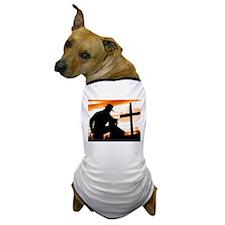 """Cowboy Prayer"" Dog T-Shirt"