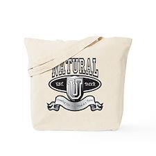 NaturalUBlk Tote Bag