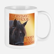 Horses feed my soul Mug