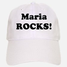 Maria Rocks! Baseball Baseball Cap