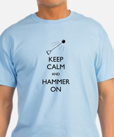 Men's Keep Calm Hammer On - T-Shirt