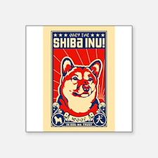 Obey the SHIBA INU! Propaganda Sticker