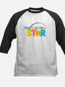 My Signing Star Baseball Jersey
