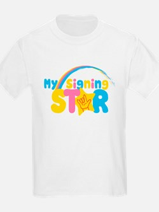 My Signing Star T-Shirt