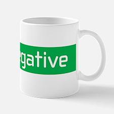 SUV Negative Mug