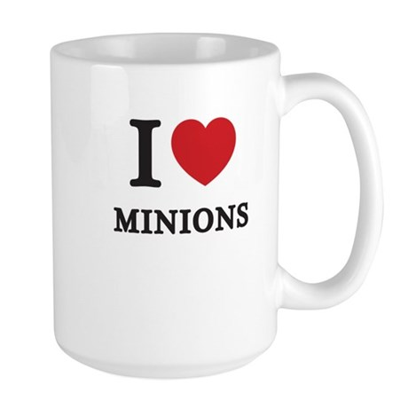 I Love Minions (Red Heart) Mug