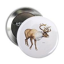 "Caribou Animal 2.25"" Button"