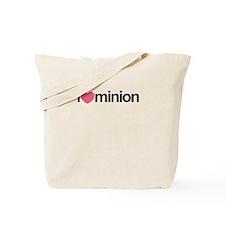 I Love Minion (Pink Heart) Tote Bag