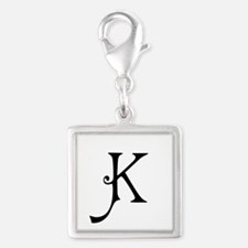 Royal Monogram K Charms