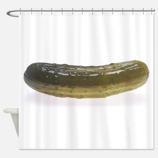 pickle huge Shower Curtain