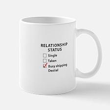 Relationship Status Destiel Mug